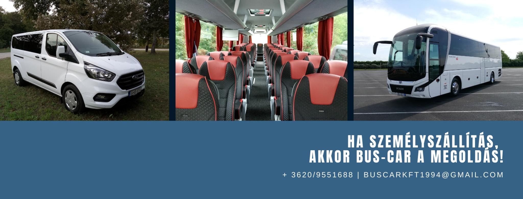 ha személyszállítás, akkor bus-car a megoldás!